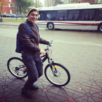 Photo taken at University LRT Station by Gismet M. on 10/10/2012
