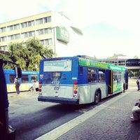 Photo taken at University LRT Station by Gismet M. on 9/19/2012