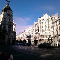 Photo taken at Madrid by Polina M. on 11/18/2012