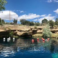Photo taken at Blue Hole by Ian Addison H. on 5/23/2017