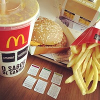 Photo taken at McDonald's by Thiago M. on 4/24/2013