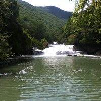 Photo taken at Cascadas de Micos by Victoria J. on 7/13/2013