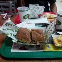Photo taken at Quiznos by Gatita L. P. on 12/22/2012