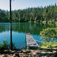 Photo taken at Ольховское озеро by Masha V. on 6/15/2014