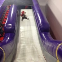 Photo taken at Bounce U by Danni E. on 10/21/2012
