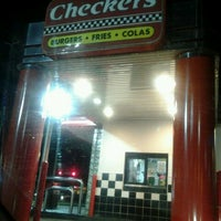 Photo taken at Checkers by Wright B. on 1/27/2013