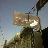 Photo taken at La Casa del Panini by Diego P. on 9/18/2012