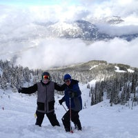 Photo taken at Whistler Mtn. Peak by Marley H. on 2/23/2013