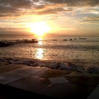 Photo taken at Pantai Timur Pangandaran by Saepul F. on 6/7/2013