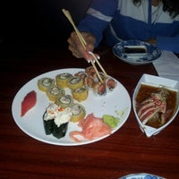 Photo taken at Ocean Blue Sushi by Rob H. on 9/28/2012