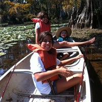 Photo taken at Caddo Lake State Park by Greg I. on 9/23/2012