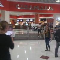 Photo taken at Cinemark by Boniel O. on 10/20/2012