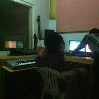 Photo taken at Beat Dakay Studios by Sheihk-Alvarobwoi D. on 1/3/2013