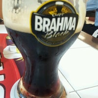 Photo taken at Quiosque Chopp Brahma (Tamboré) by Micheli F. on 11/21/2012