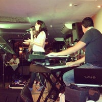 Photo taken at Manhattan Café Theatro by Kedma P. on 2/3/2013