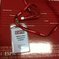 Photo taken at Escola Superior de Propaganda e Marketing (ESPM) by Debora M. on 7/24/2013