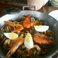 Photo taken at La Trobada Restaurant by Gorbeh Shirazi on 9/24/2012