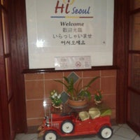 Photo taken at Hi Seoul Korean Fusion Foods by Cerolly E. on 3/13/2013