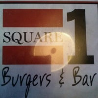 Photo taken at Square 1 Burgers & Bar by Cathy L. on 10/5/2012