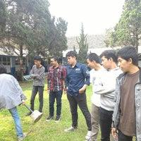 Photo taken at SMA Angkasa Bandung by Rizky E. on 11/7/2015