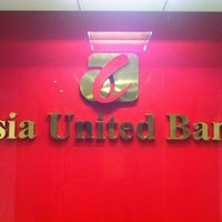 Photo taken at Asia United Bank (Main Office) by Erwin Chester on 9/30/2012