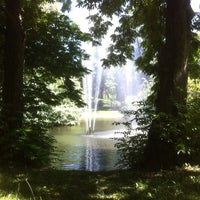 Photo taken at Türkenschanzpark by Andreas L. on 7/21/2013