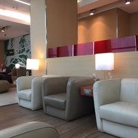 """Photo taken at Alitalia Freccia Alata Lounge """"Bramante"""" by 🐻❤️😍 on 10/3/2016"""