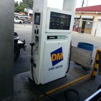 Photo taken at DM Gasoline Station by Penelope Anne R. on 2/3/2013