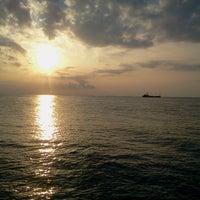 Photo taken at Gazzebo Pinggir Laut by firmana A. on 3/6/2013