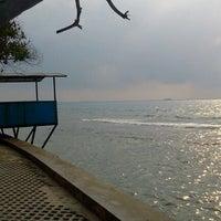 Photo taken at Gazzebo Pinggir Laut by firmana A. on 9/21/2012