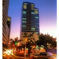 Photo taken at Eastwood City by Samuel L. L. on 4/16/2013