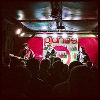 Photo taken at Pianos by Chelsea Mae H. on 12/20/2012