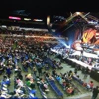Photo taken at SMART Araneta Coliseum by Oobeth P. on 4/30/2013