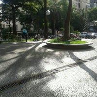 Photo taken at Praça Afonso Arinos by Aline D. on 12/6/2012