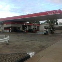 Photo taken at Caltex South by Grizzly O. on 6/28/2013