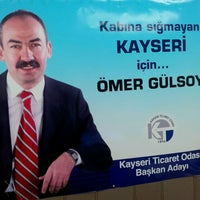Photo taken at KTO Baskan Adayi Ömer Gülsoy Seçim İrtibat Bürosu by Hakan E. on 5/10/2013
