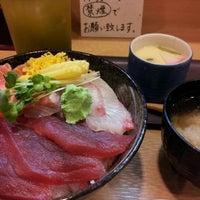 Photo taken at 寿司 ちゃすけ by Akitaro S. on 6/23/2013