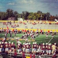 Photo taken at Brown Field by Saurabh(Sammy) A. on 9/28/2013