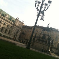 Photo taken at Piazza Carlo Alberto by Nancy C. on 10/18/2012