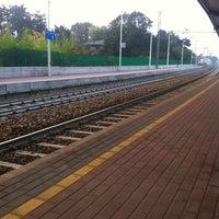 Photo taken at Stazione Mariano Comense by Alessandra C. on 10/24/2012
