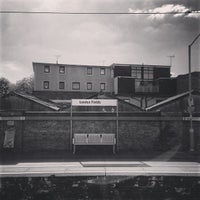Photo taken at London Fields Overground Station (LOF) by Anuwat C. on 6/8/2013