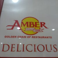 Photo taken at Amber Restaurant by Joan M. on 7/30/2013