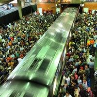 Photo taken at Estação Palmeiras-Barra Funda (CPTM) by Leonardo C. on 7/30/2013