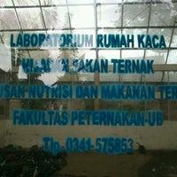 Photo taken at Fakultas Peternakan by Yohanes A. on 3/31/2013
