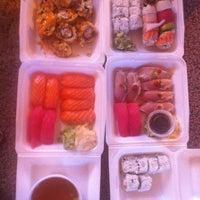 Photo taken at Gogo Sushi by Jamie J. on 10/7/2012
