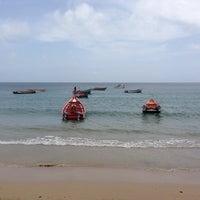 Photo taken at Playa Puerto Francés by Francisco H. on 6/22/2014