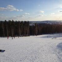 Снимок сделан в ГЛК Гора Волчиха пользователем Igor T. 3/30/2013