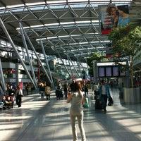Photo taken at Düsseldorf Airport (DUS) by Рафаэль Ф. on 7/14/2013