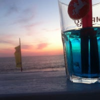 Photo taken at 40 Gradi All'Ombra beach bar by Mauro A. on 9/2/2013