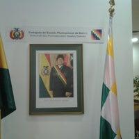 Photo taken at Embajada de Bolivia by Ernesto R. on 3/5/2013